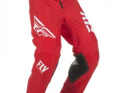Pantalon cross Fly Racing Kinetic Shield rouge / blanc