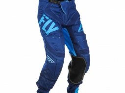 Pantalon cross Fly Racing Lite Hydrogen bleu
