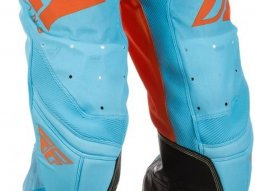 Pantalon cross Fly Racing Lite Hydrogen orange / bleu