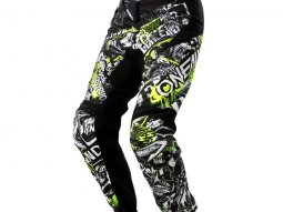 Pantalon cross O'Neal Element Attack noir / jaune