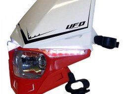 Plaque de phare UFO Stealth rouge (rouge CR 00-11)