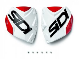 Plaque tibiale Sidi Crossfire 2 Blanc / Rouge