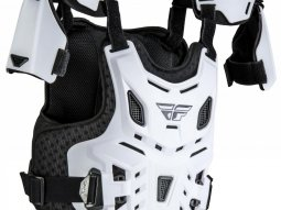 Plastron enfant Fly Racing Revel Roost blanc