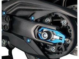 Protection de bras oscillant Lightech carbone mat pour Yamaha T-Max 53