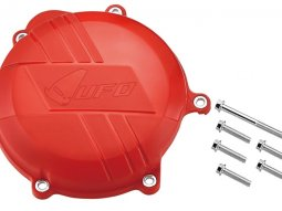 Protection de carter d'embrayage UFO Honda CRF 450R 09-16 rouge