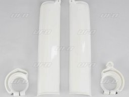 Protection de fourche UFO KTM 600 MX 90-92 blanc (blanc KTM)