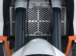 Protection de radiateur R&G Racing inox KTM 990 Adventure 06-14