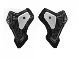 Protections de coudes Spidi WARRIOR ELBOW SLIDER noir / blanc