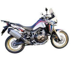 Protections latérales  alu noir CRF1000 Africa twin DCT abs