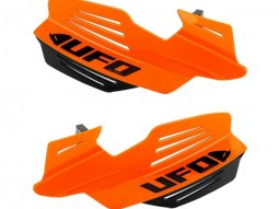 Protège-mains UFO Vulcan orange fluo