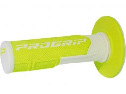 Revêtements de poignée Progrip 801 Closed end blanc / jaune...