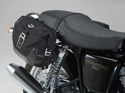 Sacoches latérales et supports SW-MOTECH Legend Gear Triumph Thruxton