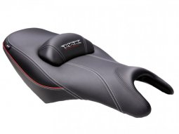 Selle confort chauffante SHAD Yamaha T-max 500 / 530 08-14 noir / rouge