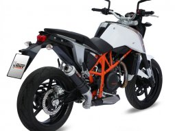 Silencieux MIVV GP Steel Black KTM 690 Duke 12-
