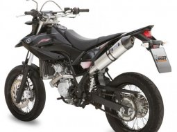Silencieux MIVV Stronger finition inox pour Yamaha WR 125 R / X 2009>