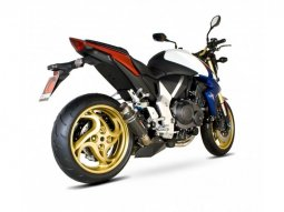Silencieux Scorpion RP-1 GP carbone Honda CB 1000 R 08-17