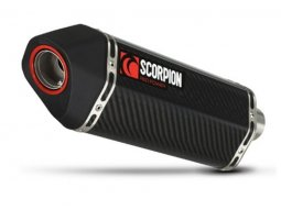 Silencieux Scorpion Serket Parallel carbone Honda CB500F 13-15