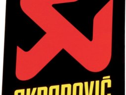 Sticker Akrapovic 75x75mm