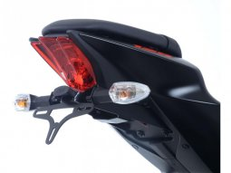 Support de plaque dimmatriculation R&G Racing noir Suzuki GSX-R 125 1