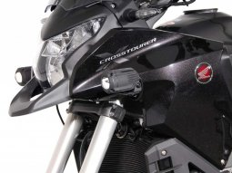 Support pour feux additionnels SW-MOTECH noir Honda Crosstourer 11-