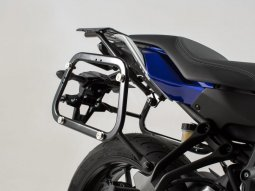 Support pour valise SW-MOTECH QUICK-LOCK EVO noir Yamaha MT-07 Tracer