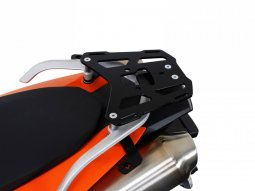 Support top case SW-MOTECH ALU-RACK noir KTM 990 SM / SMR 07-