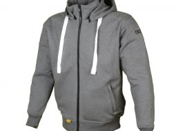 Sweat à capuche Booster Hoodie Kevlar Core gris anthracite