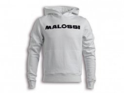 Sweat Malossi Pole position blanc