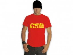 T-shirt Malossi Top rouge