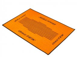 Tapis dentrée BikeTek Serie 3 orange 90x60cm
