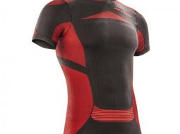 Tee-shirt de protection Acerbis X-Body Summer SS noir / rouge