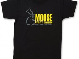 Tee-shirt Moose Racing Mud noir