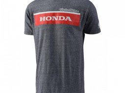 Tee-shirt Troy Lee Designs Honda Wing Block gris