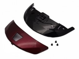 Ventilation frontale Shoei Qwest rouge