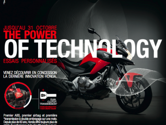 La technologie Dual Clutch Transmission en essai chez Honda