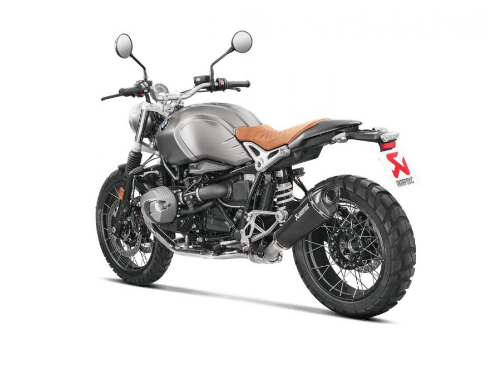 silencieux akrapovic titane noir bmw r nine t scrambler 16 17 hexa moto. Black Bedroom Furniture Sets. Home Design Ideas